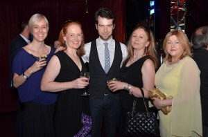 Gregory Harrington with Rosemary, Kate, Barbara & Ruth - Photo by Andrew Werner