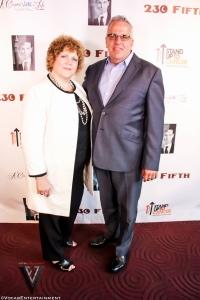 Jane Rubenstein & Tom Chiodo of SU2C by Ty of Vocab Magazine