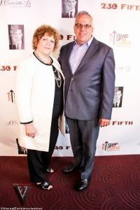 Jane Rubenstein & Tom Chiodo of SU2C by Ty of Vocab Magazine